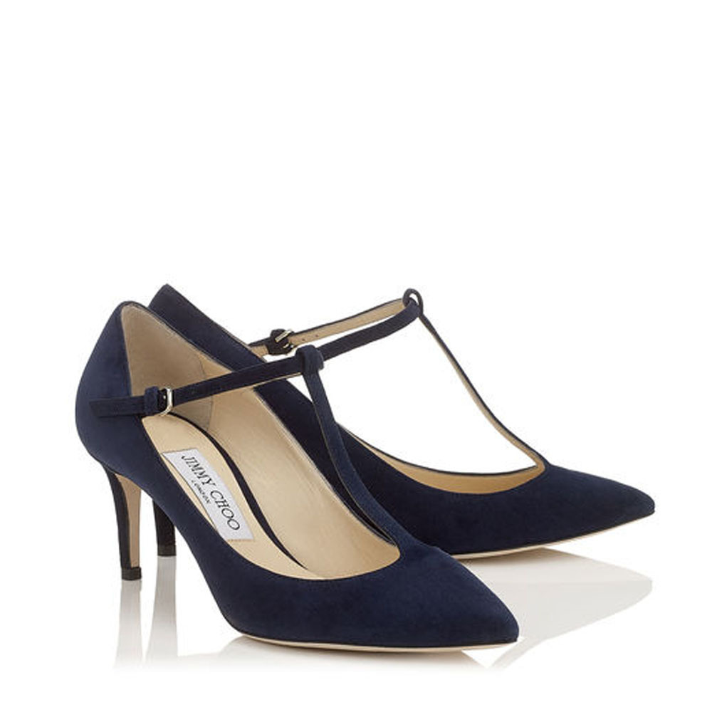 Jimmy Choo☆DARIA 65☆パンプス☆Black Light Mocha Navy