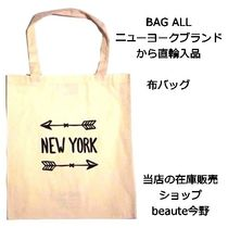 BAG ALL バッグオール カバン NEW YORK HEART TOTE BAG 即納