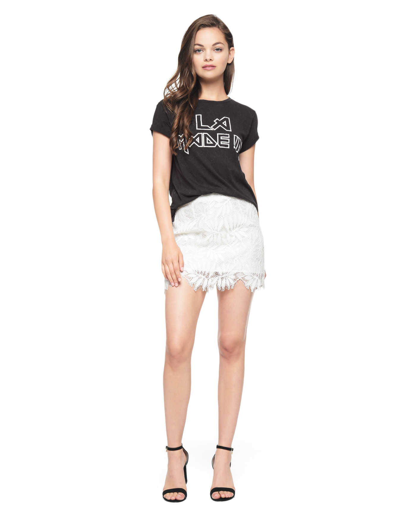 ★LA発 JUICY COUTURE LA MADE IN ROCK グラフィック Tシャツ★