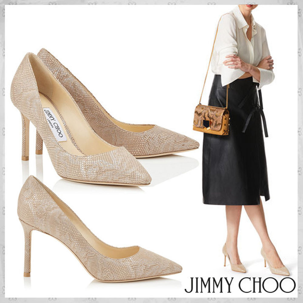 Jimmy Choo☆ROMY 85☆パンプス☆Nude