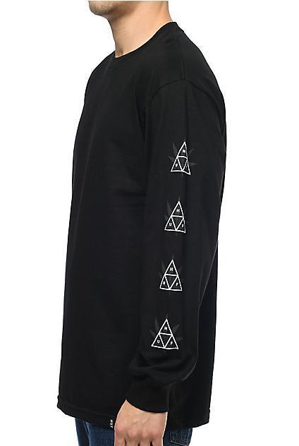 完売確実!!【Huf 】 大人気の420 Triple Triangle L/S Shirt