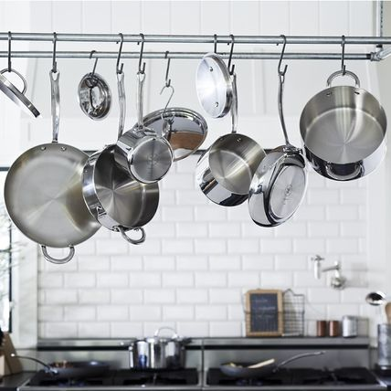 【速達・追跡】 Williams Sonoma Open Kitchen Stainless-Steel