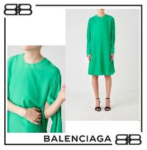 関税送料込★Balenciaga★LONG SLEEVE DRESS