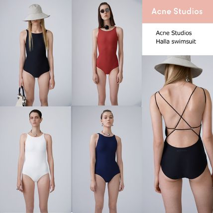 Acne Halla Olympic-style high-performance drying dress