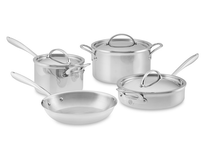 【速達・追跡】 Williams Sonoma Signature Thermo-Clad Stainle