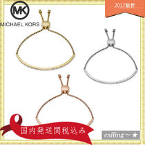 セレブ愛用者多数☆Michael Kors☆Clear Bar Slide Bracelet