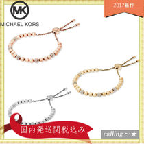 セレブ愛用者多数☆Michael Kors☆Beaded Pav Slider Bracelet