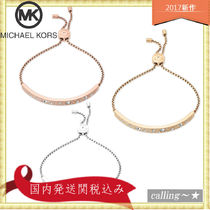 セレブ愛用者多数☆Michael Kors☆Pave Bar Slider Bracelet