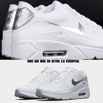 NIKE★AIR MAX 90 ULTRA 2.0 ESSENTIAL★25~29cm★白×シルバー