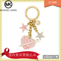 セレブ愛用者多数☆Michael Kors☆Lucky Charms Heart Key Fob
