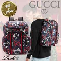 【Gucci】☆Ghost Canvas バックパック☆