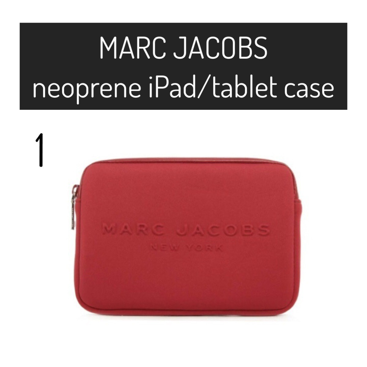 MARC JACOBS / iPad/Tablet Case / Neoprene ネオプレン