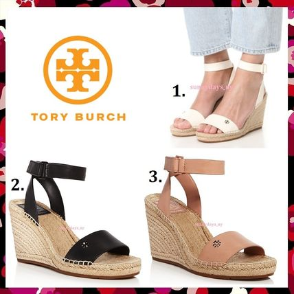 Tory Burch サンダル・ミュール セール 今季新作 Tory Burch BIMA 2 90MM WEDGE ESPADRILLE