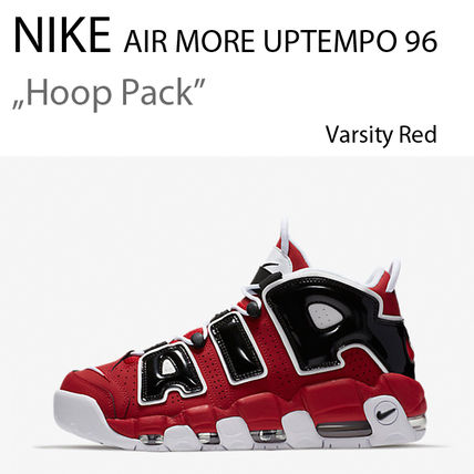 Nike スニーカー NIKE AIR MORE UPTEMPO 96 HOOP PACK Varsity Red モアテン