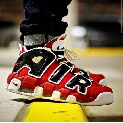 Nike スニーカー NIKE AIR MORE UPTEMPO 96 HOOP PACK Varsity Red モアテン(4)