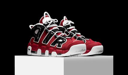 Nike スニーカー NIKE AIR MORE UPTEMPO 96 HOOP PACK Varsity Red モアテン(5)