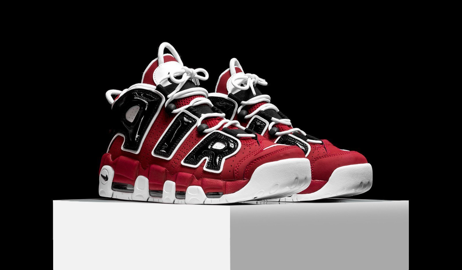 NIKE AIR MORE UPTEMPO 96 HOOP PACK Varsity Red モアテン