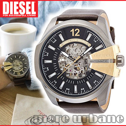 Diesel Men's Mega Chief Automatic Skeleton Watch DZ4379