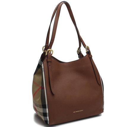 (BURBERRY) SM CANTERBY L バーバリーチェック トートバッグ