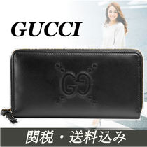 【関税込】Gucci ★Ghost 人気leather長財布
