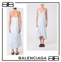関税送料込★Balenciaga★STRIPED DRESS