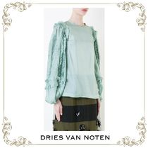 【17SS】大人気★Dries Van Noten★ruffled shift blouse