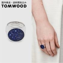国内発送・送料関税込☆TOM WOOD☆Flush Blue Lapis Circle