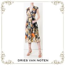 【17SS】大人気★Dries Van Noten★floral flared dress