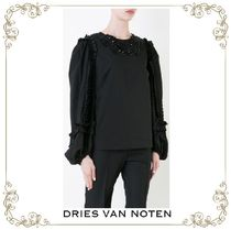【17SS】大人気★Dries Van Noten★embroidered blouse