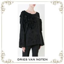 【17SS】大人気★Dries Van Noten★embroidered flared top