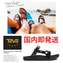 【TEVA】テバ W CITY UNIVERSAL SLIDE PATENT LEATHER #1013652