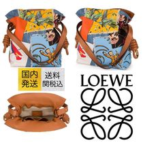 送料関税込☆LOEWE Flamenco Knot Paulas Ibiza Bag Multicolour
