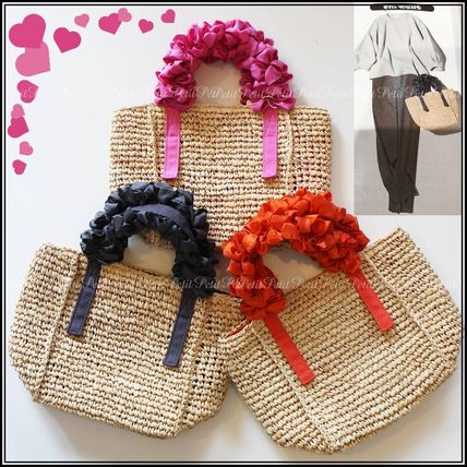 LUDLOW Straw Bags