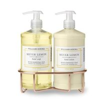Williams Sonoma(ウィリアムズソノマ) ハンドケア 【速達・追跡】Meyer Lemon Soap & Lotion, Classic 3-Piece Set