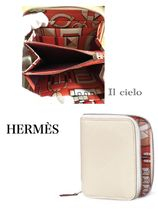 HERMES】人気のAzap Silkin コンパクトWallet ☆