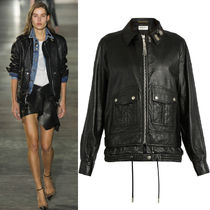 17SS WSL1071 LOOK29 OVERSIZED LEATHER JACKET