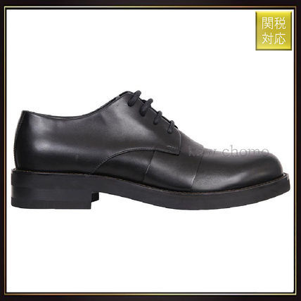 Marni Black leather derby shoes Nero dress shoes