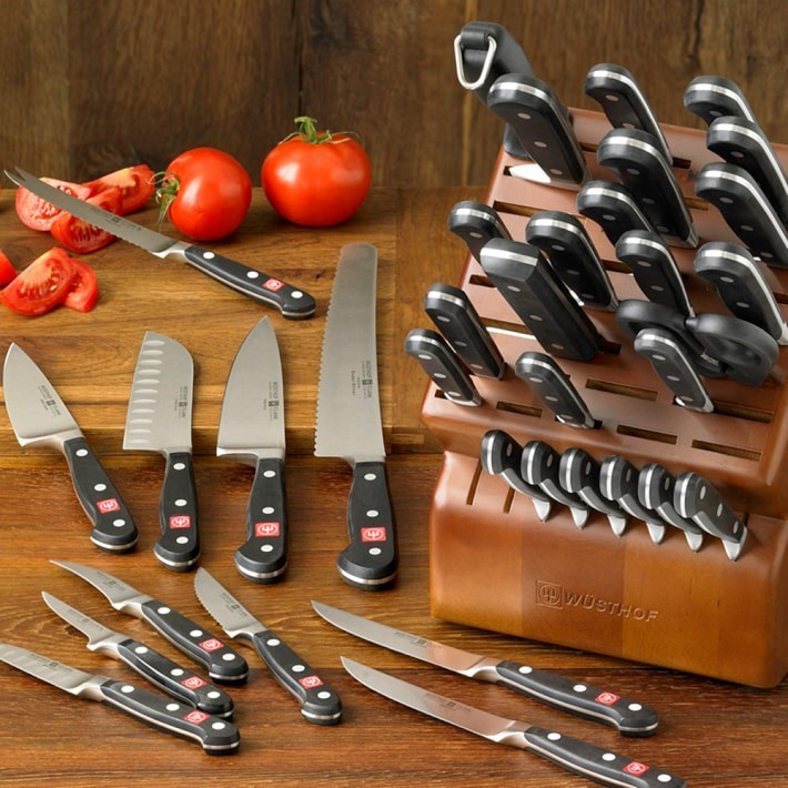 【速達・追跡】Wusthof Classic 36-Piece Knife Block Set