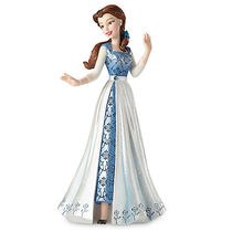 ディズニー Belle in Blue Dress Couture de Force Figurine by
