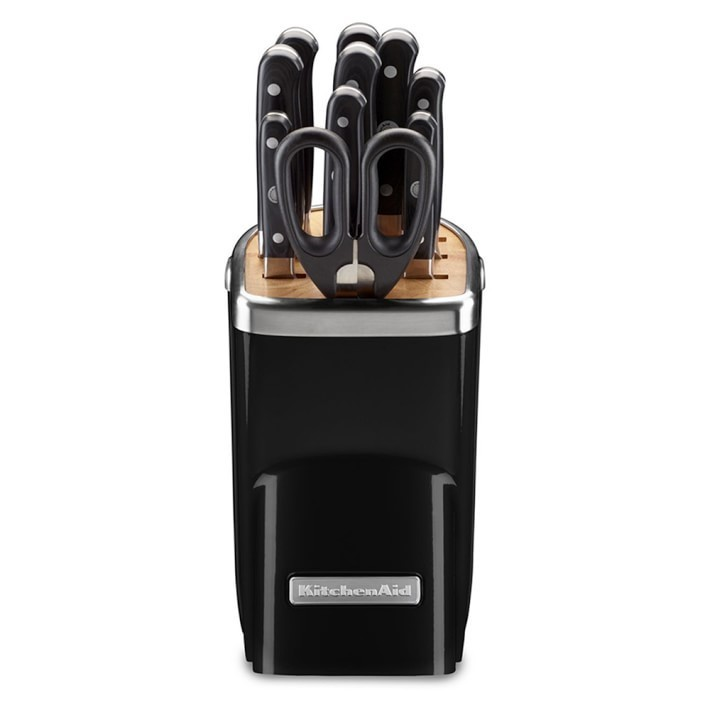 【速達・追跡】KitchenAid 11-Piece Knife Set, Onyx Black