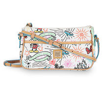 ディズニー Disney Sketch Pouchette by Dooney & Bourke