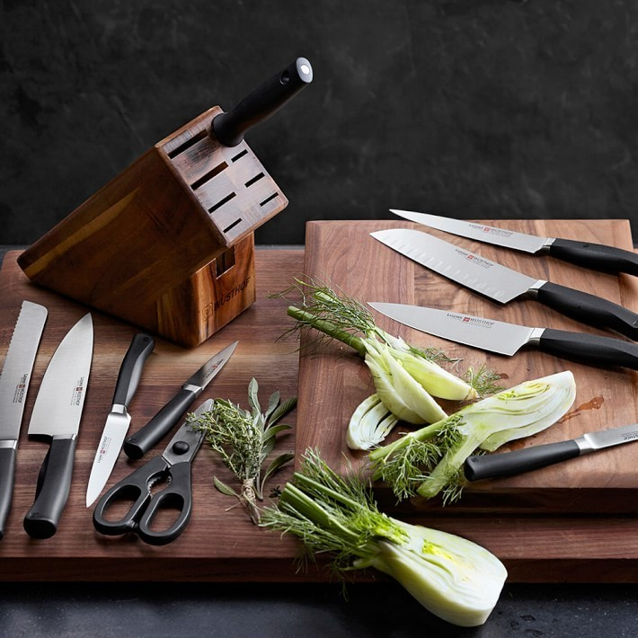【速達・追跡】Wusthof Legende 7-Piece Knife Block Set