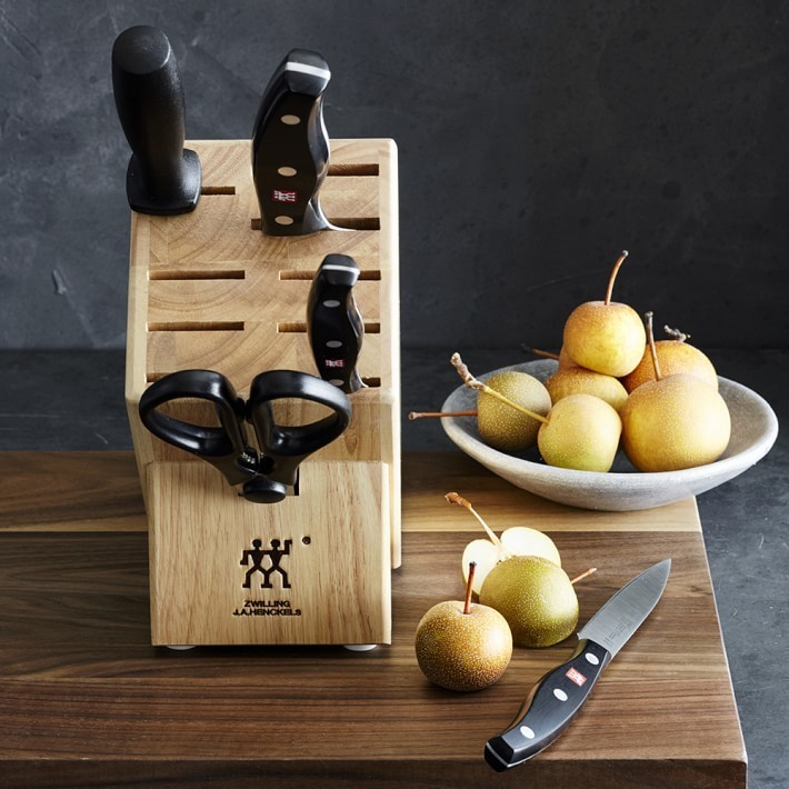 【速達・追跡】Zwilling Twin Signature 6Piece Knife Block Set