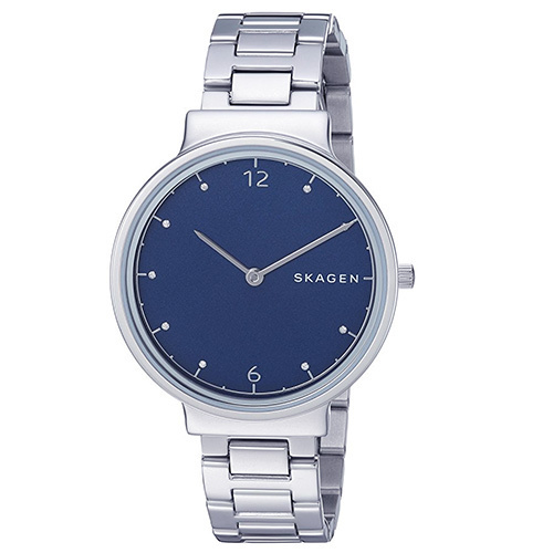 【安心ヤマト便】SKAGEN Ancher Blue Dial Watch SKW2606