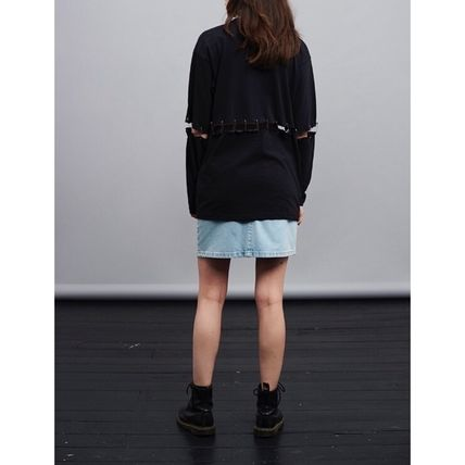 TOPSHOP Tシャツ・カットソー 【国内即発送 送料無料 日本未発売 海外 大人気】TAINTED TOP(20)