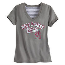 ディズニー Walt Disney World Collegiate Fashion Tee for