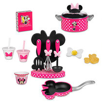 ディズニー Minnie Mouse Gourmet Cooking Set