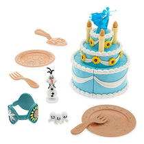 ディズニー Anna Birthday Cake Play Set - Frozen Fever
