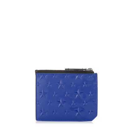 """JIMMY CHOO """"in stock"""" patent card & coin BELMONT"""