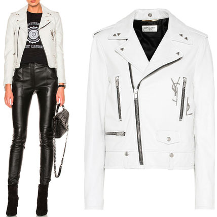 17th SS WSL1076 CLASSIC YSL MOTORCYCLE JACKET